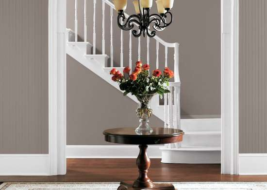Poised taupe sherwin williams