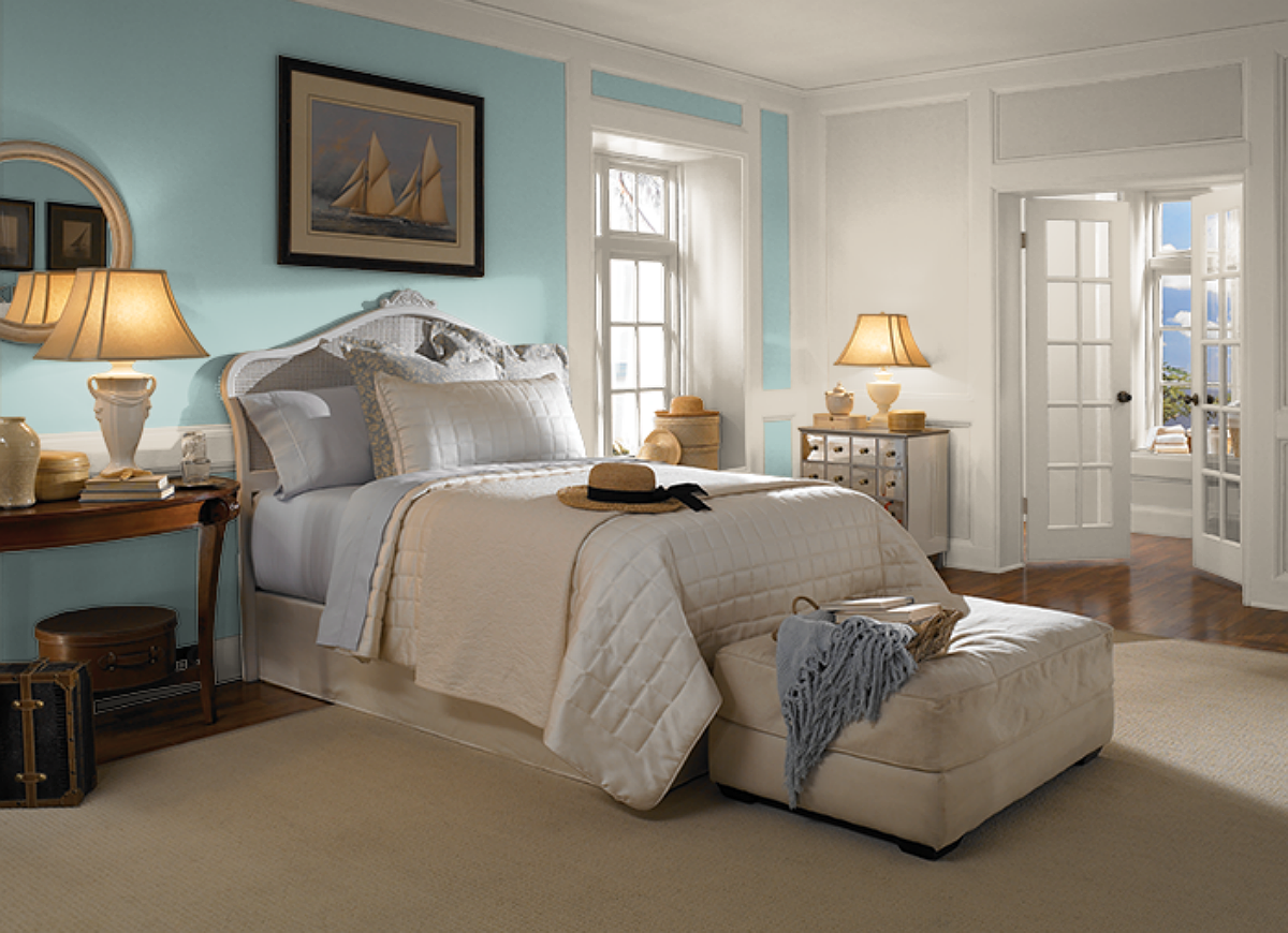 Behr Bedroom Colors Polished Aqua Behr Color Trends 12 Shades Youll See