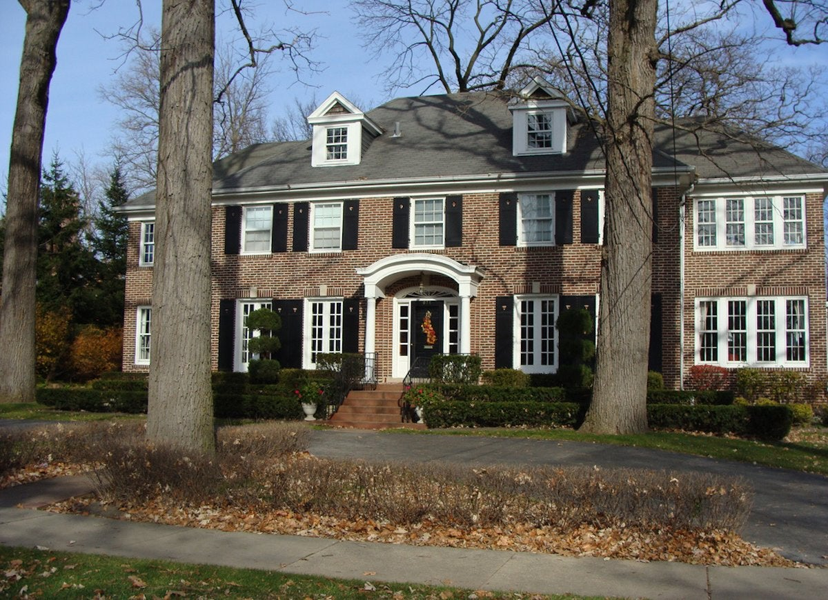 Home Alone House Famous Movie Houses 11 Owned By Real