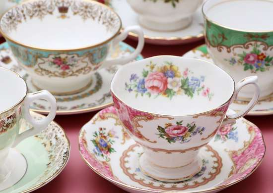 Don't Wash Hand-Painted Glass and China in Dishwasher