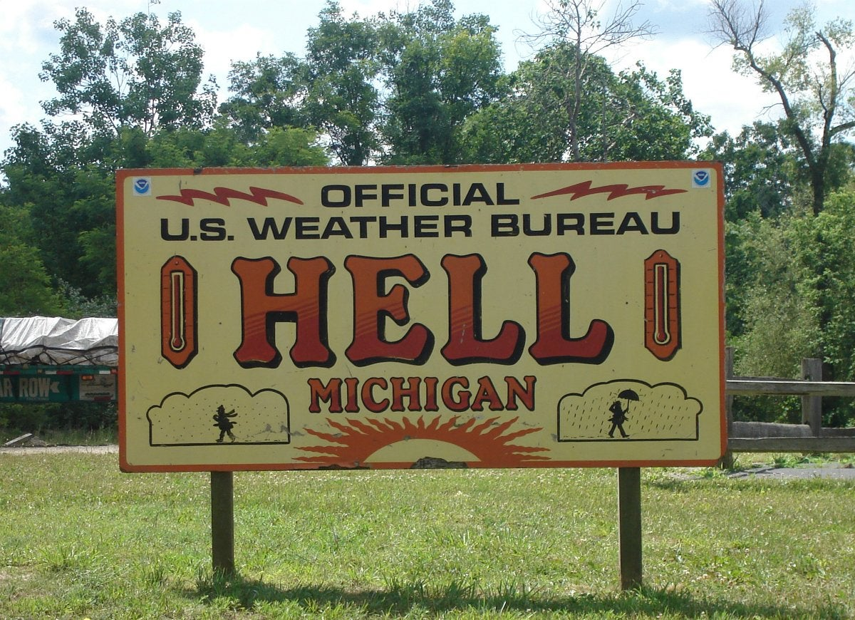 Hell-michigan