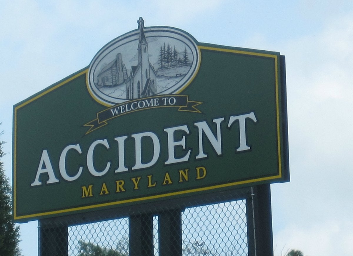 Accident maryland