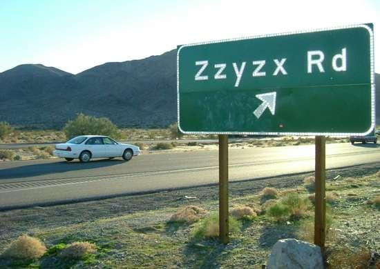 Zzyzx-california