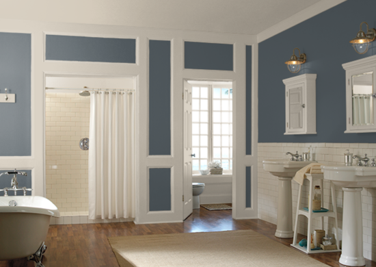 Behr Blue Metal Paint