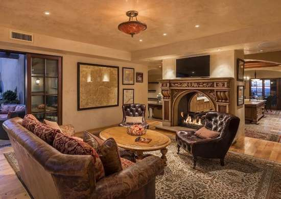 Large Living Room Fireplace