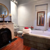 Bathroom Fireplace