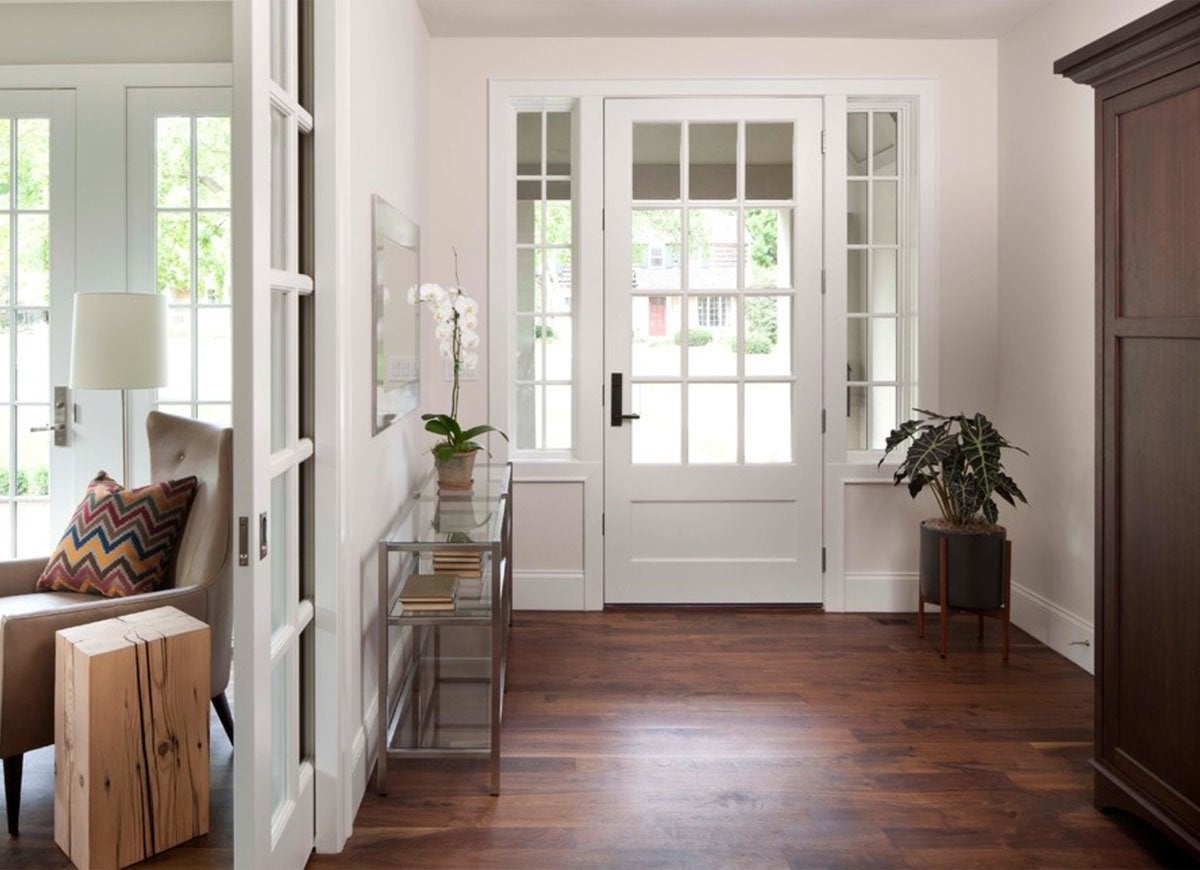 In A Chic Reimagining Of A Country Door, This No Frills Foyer Designed By  Elevation Homes Inspires Guests To Reminisce About Simpler Times.