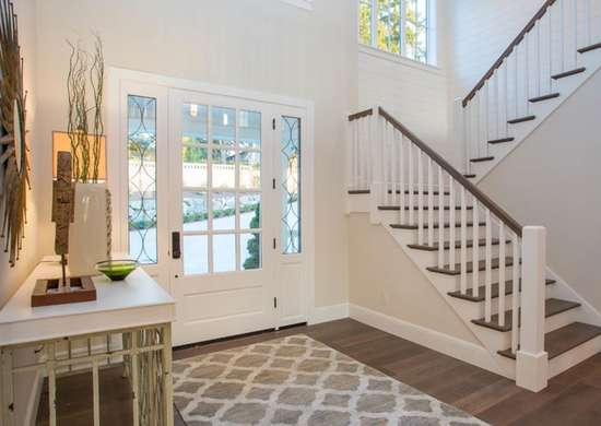 Farmhouse Foyer Design