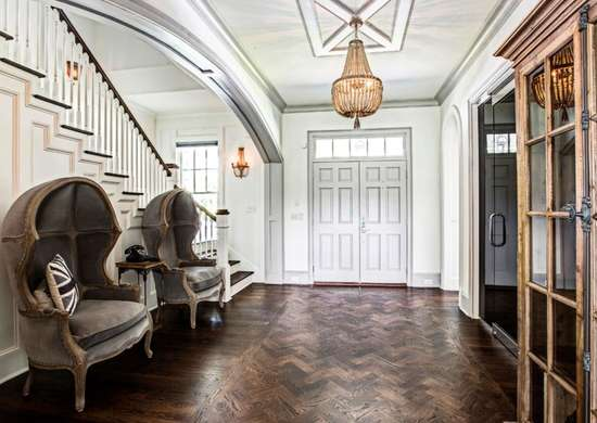 Old World Entryway Design