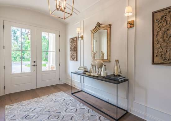Royalty-Inspired Entryway Design