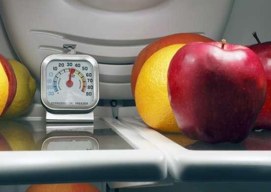 Food fridge temperature