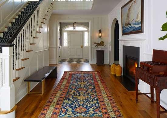 Antique-modern-entryway