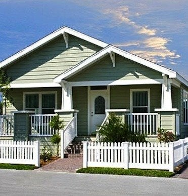 Cavco palmharbor green manufactured home