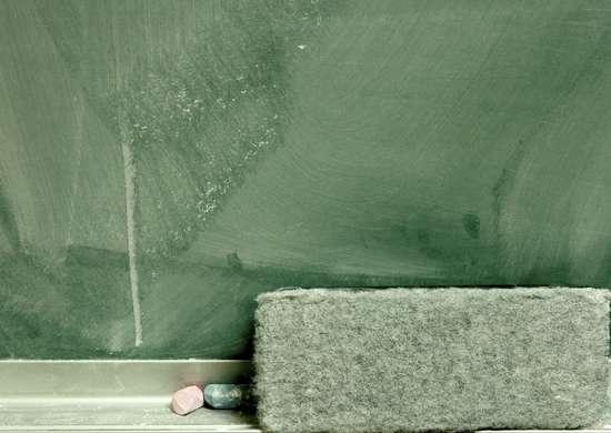 Chalkboard eraser to de fog car windows