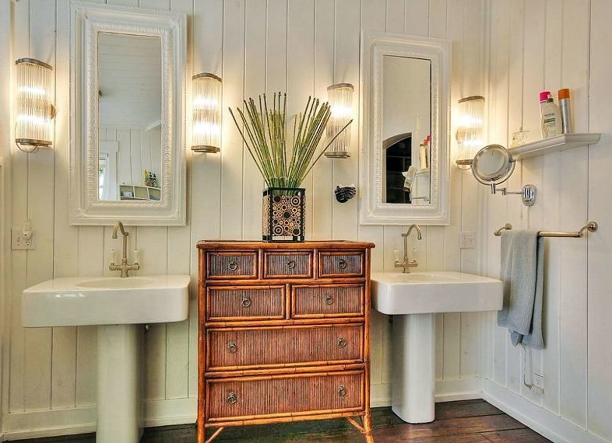 Sconce bathroom