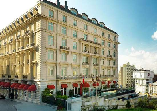 Pera Palace Hotel in Istanbul, Turkey