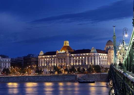 Hotel Gellért in Budapest, Hungary
