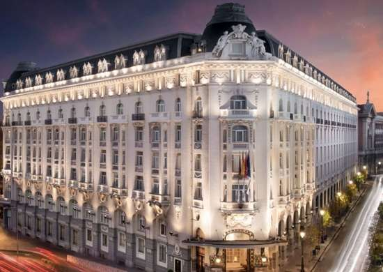 The Westin Palace in Madrid, Spain