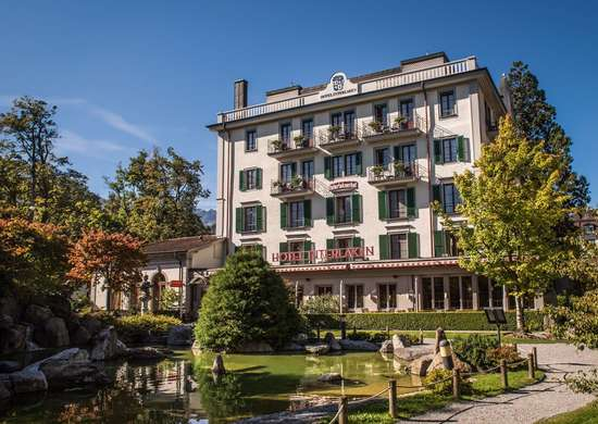Hotel Interlaken in Interlaken, Switzerland