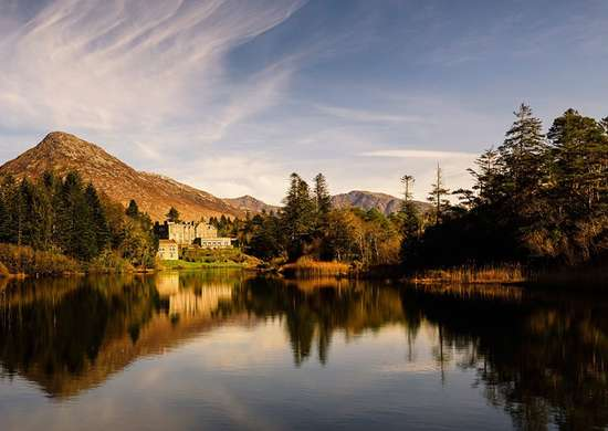 Ballynahinch Castle Hotel in Galway, Ireland