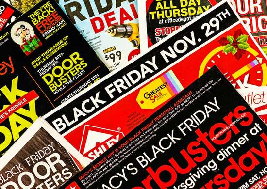 All black friday sales advertised