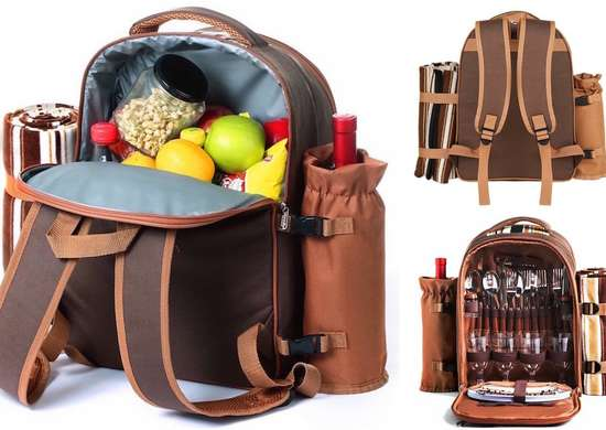 Gifts for Outdoorsy People - Picnic Backpack