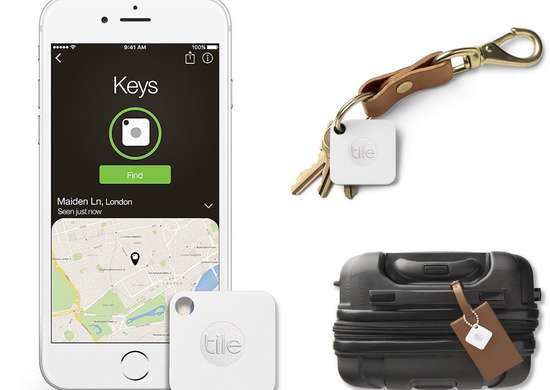 Gifts for Tech Lovers - Tile Mate Bluetooth Tracker