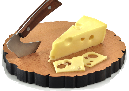 Cheese log