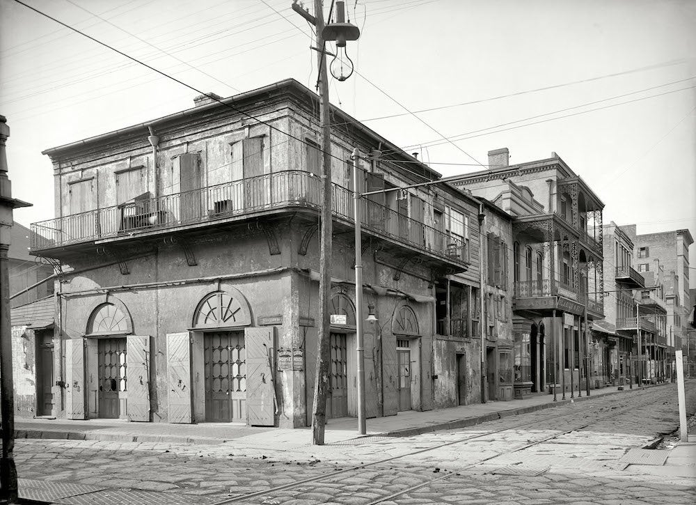 Bourbon street before