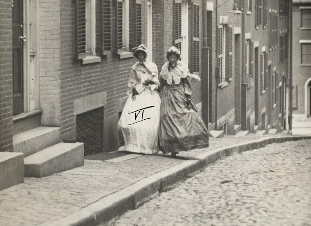 Acorn street historic