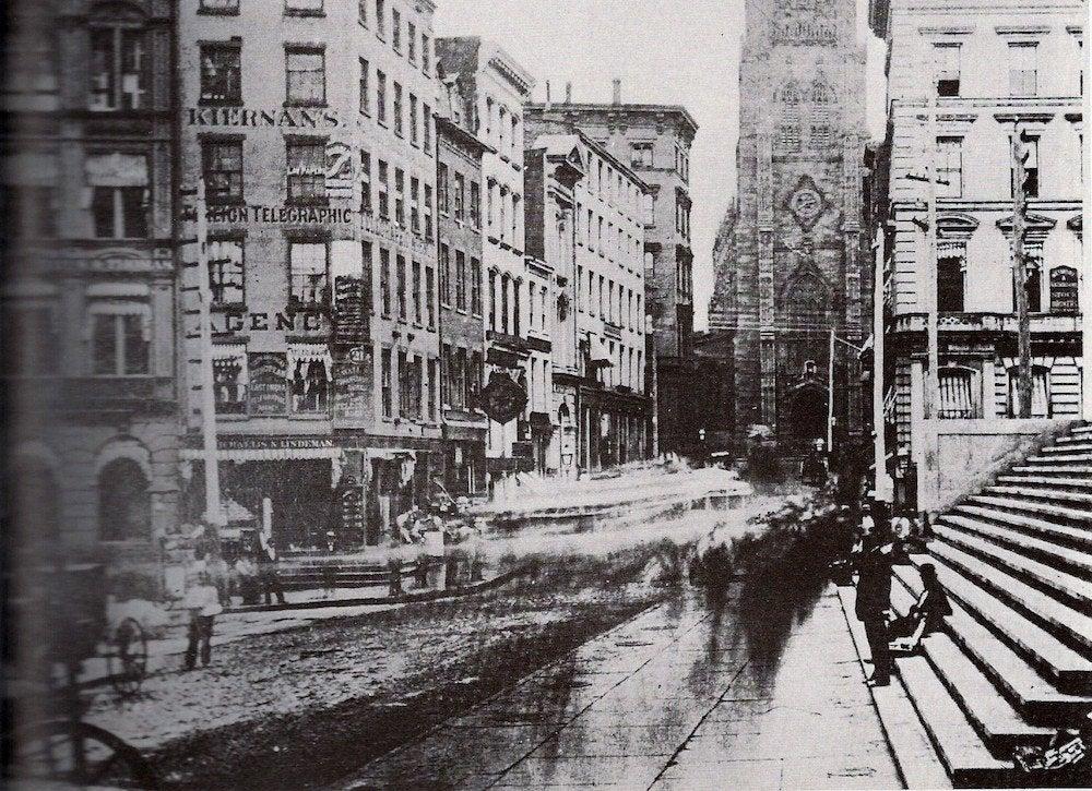 Wall street historic