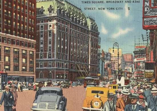 Broadway-historic