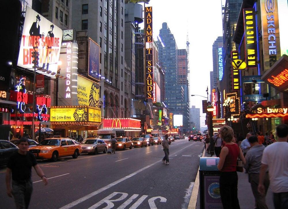 Broadway modern