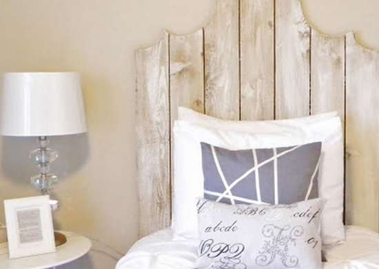 DIY Curvy Headboard