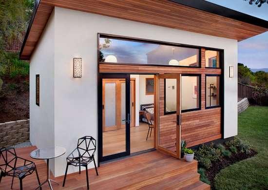 Contemporary exterior
