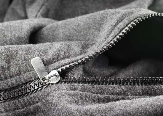 Chapstick stuck zipper