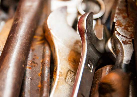 Chapstick rust tools