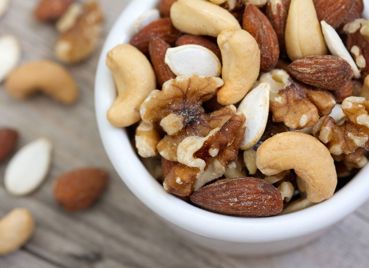 Crock pot roasted nuts