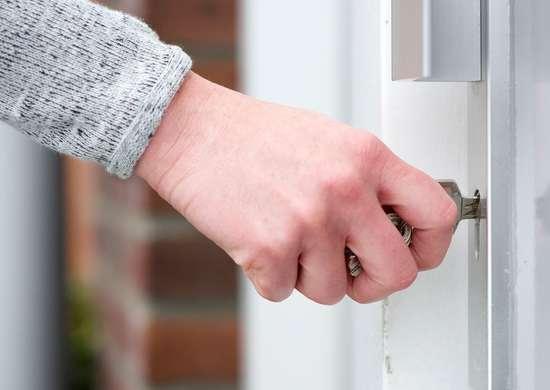 Lock door