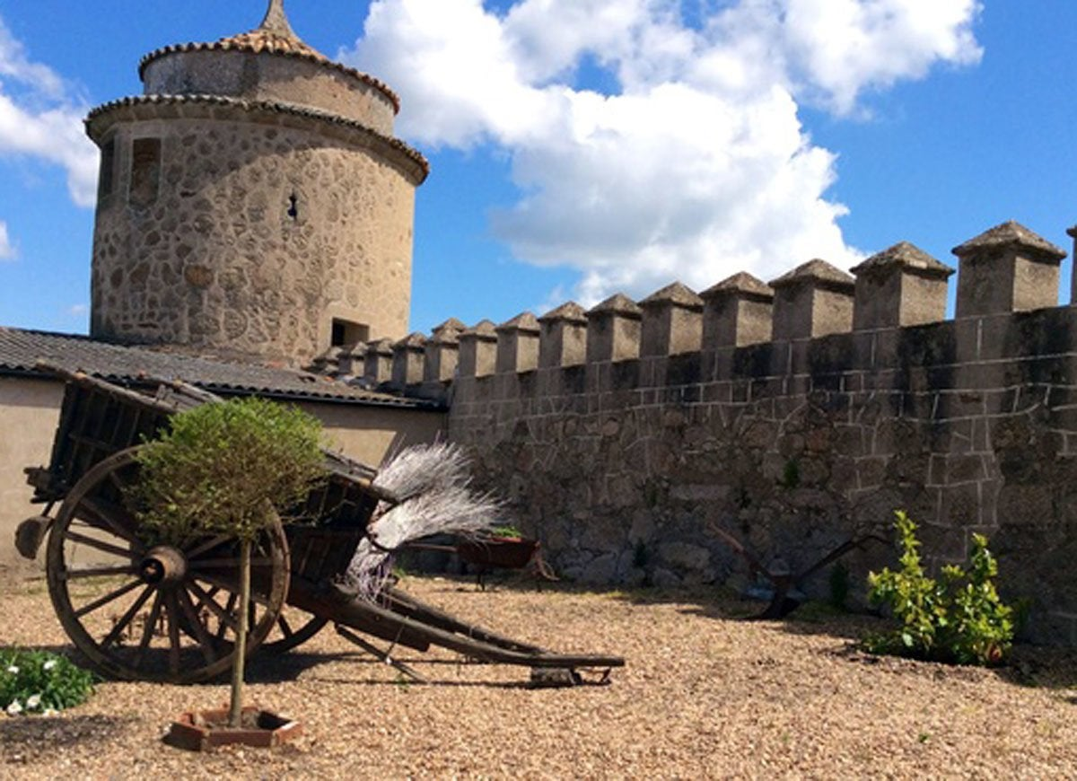 Battlement-castle