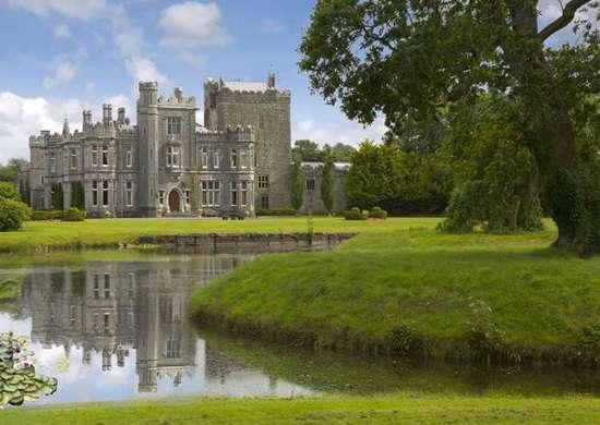 Tulira Castle in Galway, Ireland