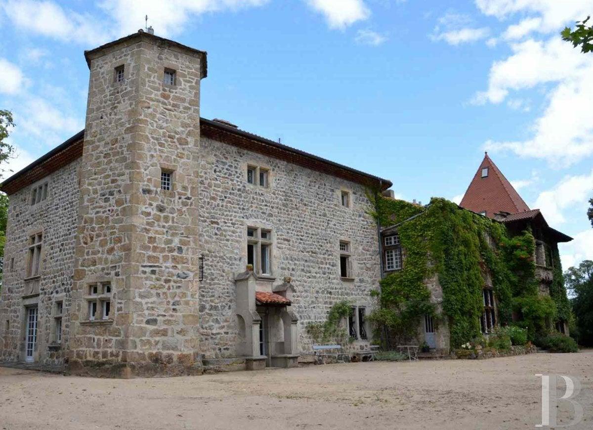 Auvergne castle