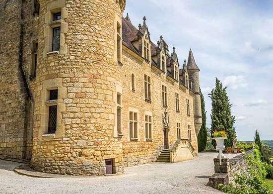 Renaissance Chateau in Dordogne, France