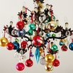 DIY Ornament Chandelier
