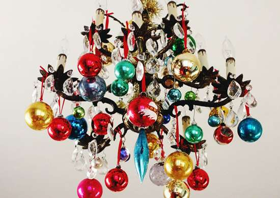 Ornament chandelier