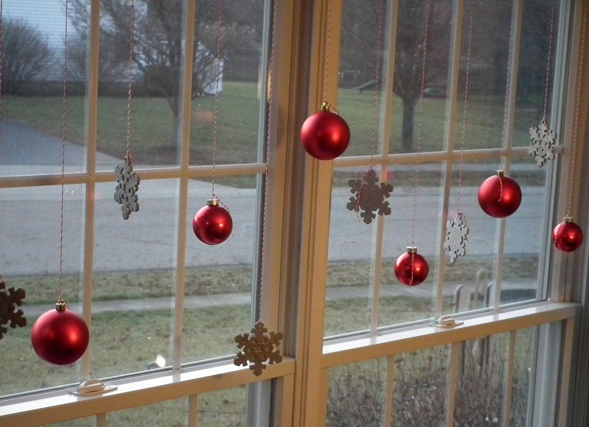 Ornament window display