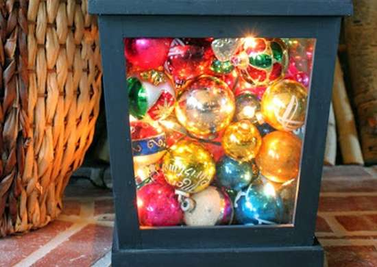 DIY Ornament Lantern