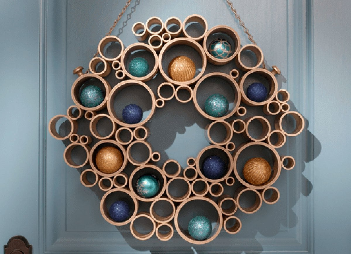 PVC Pipe Christmas Decor  Holiday Ornament Ideas to Try This Year