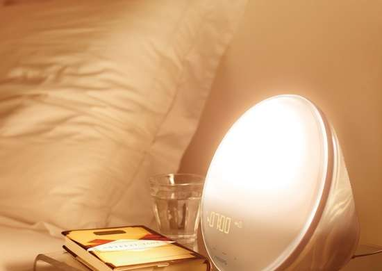 Wake Up Alarm Clock Light