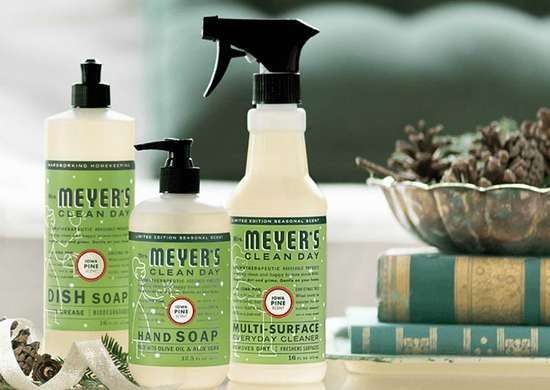 Mrs meyers iowa pine holiday soap